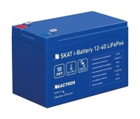 Skat i-Battery 12-40 LiFePo4 аккумулятор 12 В, 40Ач