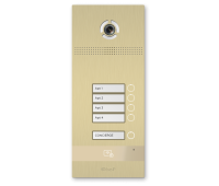BAS-IP BI-04FB GOLD вызывная панель на 4 абонента