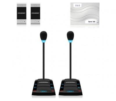 Stelberry SX-410 / 2 многоканальное переговорное устройство клиент-кассир