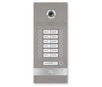BAS-IP BI-12FB SILVER вызывная панель на 12 абонентов