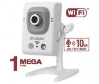 Beward B12CRW 2.5 мм 1 Мп миниатюрная IP видеокамера с подсветкой до 8м, с Wi-Fi