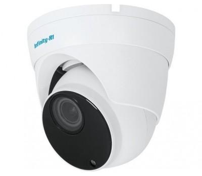 Infinity IDG-4M-2812 4 Мп уличная купольная IP видеокамера с подсветкой до 45м, c PoE