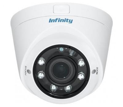 Infinity SRE-AH4000VNVF 2.8-12 4 Мп уличная купольная CVBS, AHD видеокамера с подсветкой до 40м