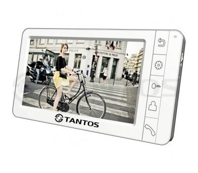 """Tantos Amelie-SD белый 7"""" цветной CVBS видеодомофон"""