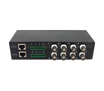 OSNOVO TP-H8 пассивный 8-канальный приёмопередатчик HDCVI/HDTVI/AHD по витой паре