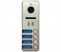 Tantos iPanel 2 Metal 4 аб. многоабонентская цветная CVBS видеопанель