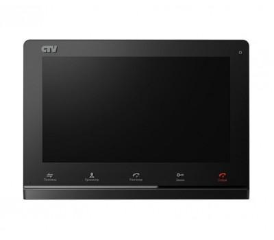 """CTV-M4101AHD черный 10"""" цветной AHD видеодомофон"""