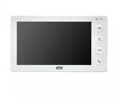 "CTV-M4700AHD белый 7"" цветной AHD видеодомофон"
