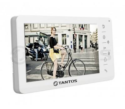 """Tantos Amelie белый 7"""" цветной CVBS видеодомофон"""