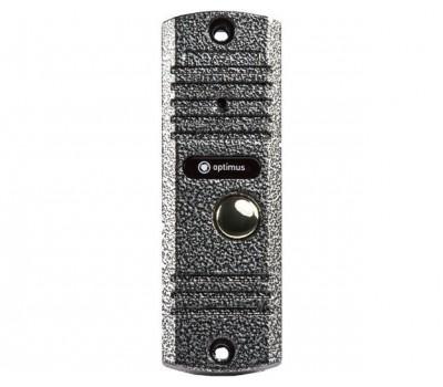 Optimus DS-700 серебро вызывная видеопанель на одного абонента