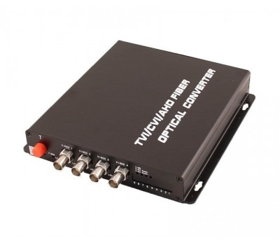 OSNOVO TA-H4/1F оптический передатчик 4 каналов видео HDCVI/HDTVI/AHD/CVBS по одномодовому оптоволокну