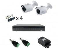 AHD-Master 2 №2 2 Мп комплект видеонаблюдения AHD формата