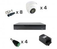AHD-Master 4 №1 2 Мп комплект видеонаблюдения AHD формата