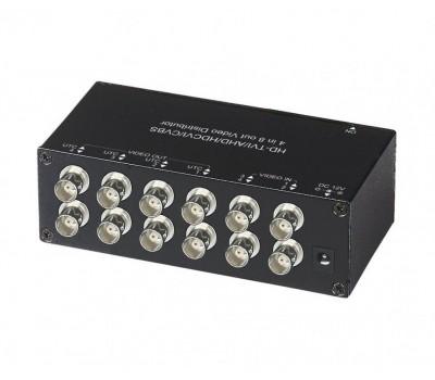 SC&T CD408HD распределитель видеосигнала HDCVI/HDTVI/AHD/CVBS