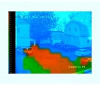 TRASSIR Heat Map on Map видеоаналитика