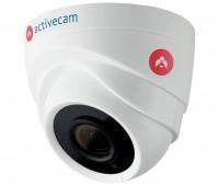 ActiveCam AC-H1S1 1 Мп купольная CVBS, CVI, TVI, AHD видеокамера с подсветкой до 25м
