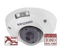 Beward B2710DMR 2.8 мм 2 Мп уличная купольная IP видеокамера с подсветкой до 8м, c PoE
