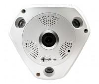 Optimus AHD-H112.1(1.7) купольная 2 Мп мультиформатная видеокамера