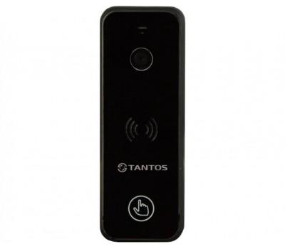 Tantos iPanel 1 + черный одноабонентская цветная CVBS видеопанель
