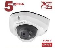 Beward SV3210DM 2.8 мм 5 Мп уличная купольная IP видеокамера с подсветкой до 25м, c PoE