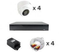 AHD-Master 4 №1 с кабелем 2 Мп комплект видеонаблюдения AHD формата