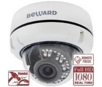 Beward B2710DVZ 2 Мп уличная купольная IP видеокамера с подсветкой до 20м, c PoE