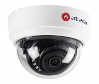 ActiveCam AC-H2D1 2.8 2 Мп уличная купольная CVBS, CVI, TVI, AHD видеокамера с подсветкой до 20м