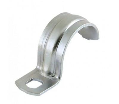 Скоба металлическая однолапковая СМО D=25-26 мм