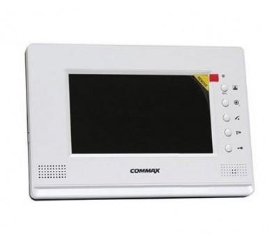 """Commax CDV-71AM/XL белый 7"""" цветной CVBS видеодомофон"""