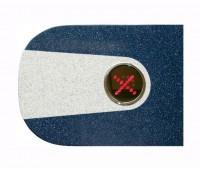 PERCo-C-03G blue крышка турникета из искусственного камня