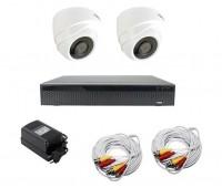 AHD-Master 2 №1 с кабелем 2 Мп комплект видеонаблюдения AHD формата