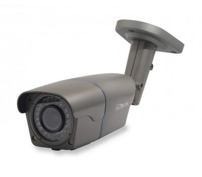 Polyvision PNM-IP2-V12PL v.9.7.7 2.8-12мм 2 Мп уличная корпусная IP видеокамера с подсветкой до 40м, c PoE