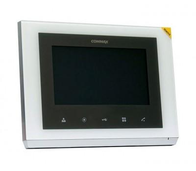 """Commax CMV-70S белый 7"""" цветной CVBS видеодомофон"""