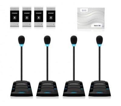 Stelberry SX-425 / 4 многоканальное переговорное устройство клиент-кассир