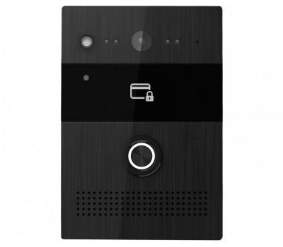 BAS-IP AV-07B BLACK одноабонентская цветная IP видеопанель