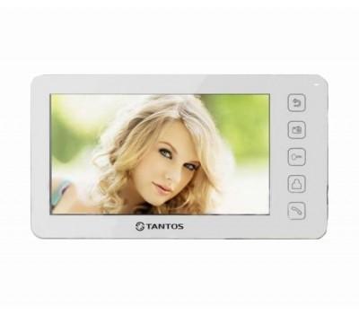 """Tantos Prime белый 7"""" цветной CVBS видеодомофон"""