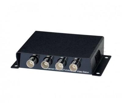 SC&T TTP414HD пассивный 4-канальный приёмопередатчик HDCVI/HDTVI/AHD по витой паре