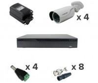 AHD-Master 4 №2 2 Мп комплект видеонаблюдения AHD формата