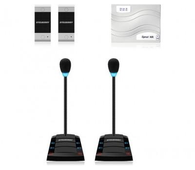 Stelberry SX-400 / 2 многоканальное переговорное устройство клиент-кассир
