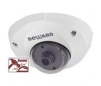 Beward B1210DM 2.8 мм 1 Мп купольная IP видеокамера, c PoE