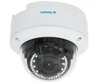 Infinity IDV-4M-2812 4 Мп купольная IP видеокамера с подсветкой до 30м, c PoE