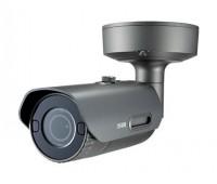 Samsung Wisenet PNO-9080R 12 Мп уличная корпусная IP видеокамера с подсветкой до 30м, c PoE