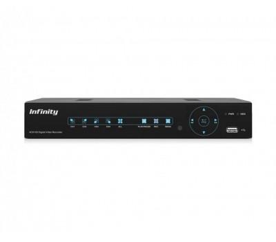 Infinity VRF-UHD428M 4 канальный CVBS, AHD, IP видеорегистратор