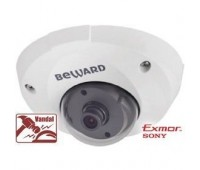 Beward B1710DM 2.8 мм 1.3 Мп уличная купольная IP видеокамера, c PoE