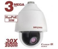 Beward BD143P30 3 Мп уличная поворотная IP видеокамера, c PoE
