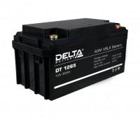 DELTA DT 1265 аккумулятор 12 В, 65Ач