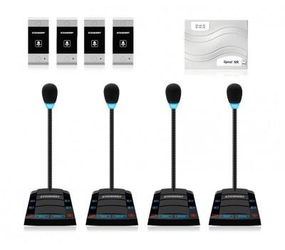 Stelberry SX-520 / 4 многоканальное переговорное устройство клиент-кассир