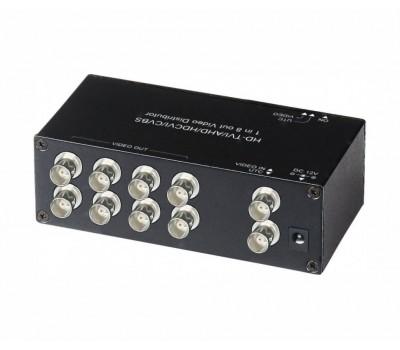 SC&T CD108HD распределитель видеосигнала HDCVI/HDTVI/AHD