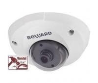 Beward CD400 2.5 мм 1 Мп купольная IP видеокамера, c PoE