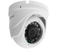 Optimus AHD-H042.1(3.6)_V.2 купольная 2 Мп мультиформатная видеокамера